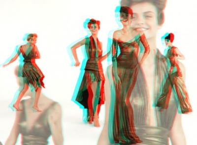 Norma Kamali представи първия 3D моден филм