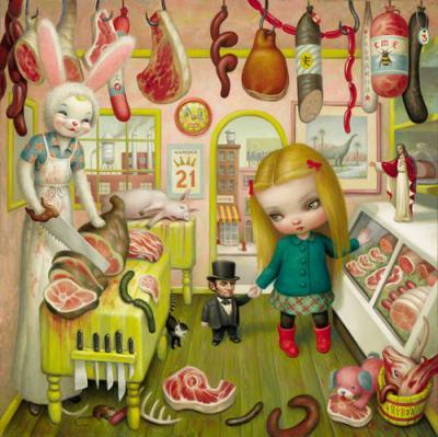 Приказки за възрастни: от основоположника на поп сюрреализма в живописта Марк Райдън