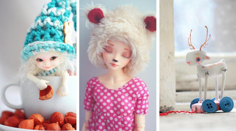 Куклен свят за мечтатели (снимки на ръчно изработени кукли)