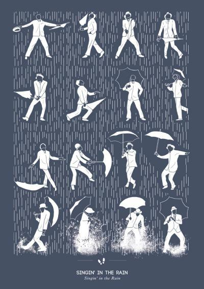 Танцуващата чума от 1518 г. заплашва да ни покоси отново (със серия плакати, показващи стъпките на известни танци)