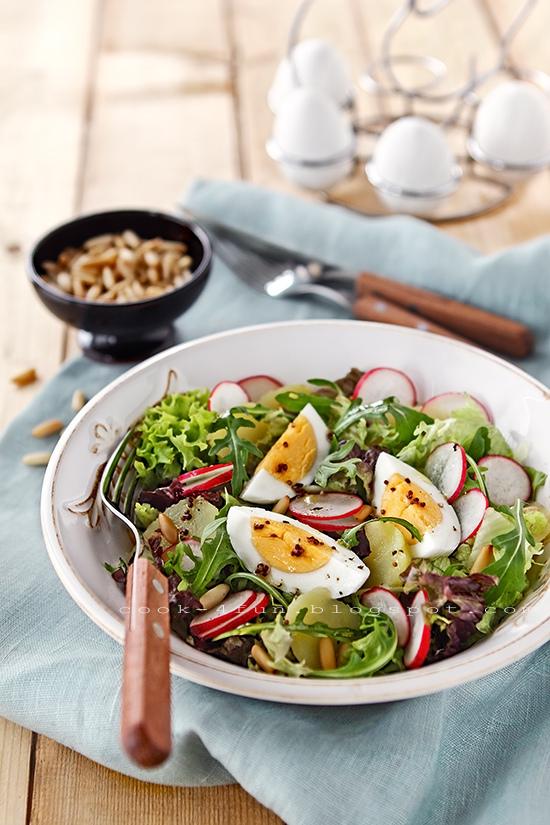 великденски рецепти: яйчена салата