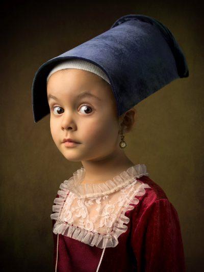 """5-годишно момиче """"съживява"""" класически картини"""