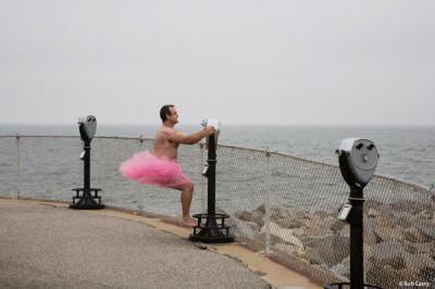Розова пачка и чувство за хумор на борба с рака на гърдата