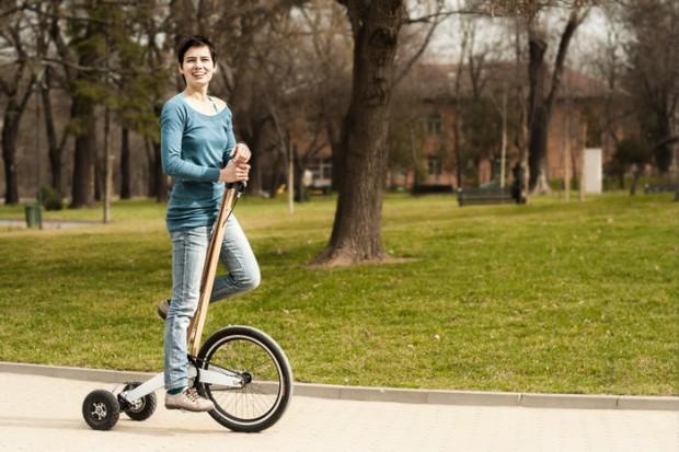 Българи изобретиха полуколело – цяло щастие в градска среда