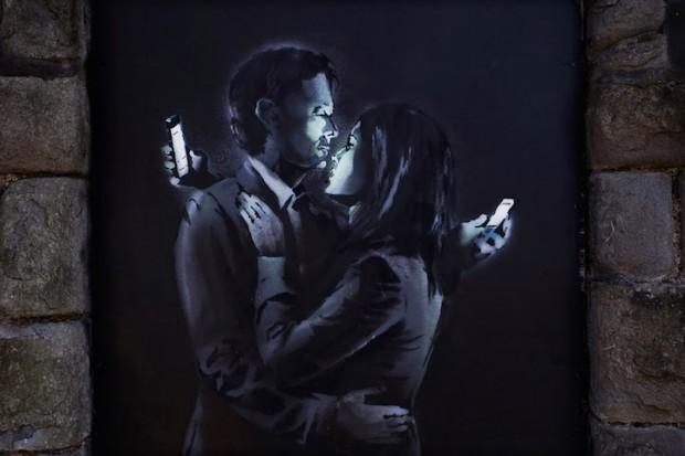 "Последното предизвикателство на Банкси иронизира ""Smart"" любовниците"