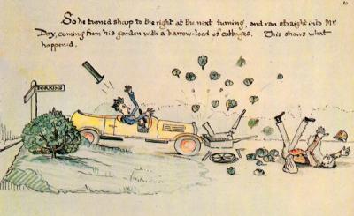 """Дж. Р. Р. Толкин и непознатият """"Мистър Блис"""" (детска книжка написана на ръка и илюстрирана от него)"""