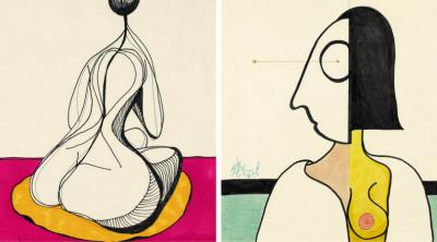 Непознатите рисунки на Кърт Вонегът