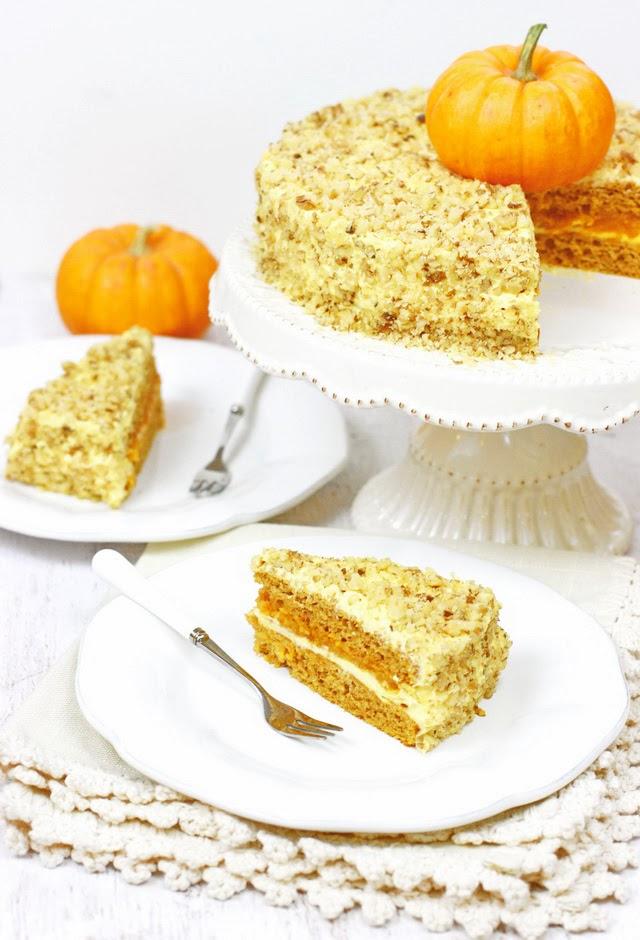 торта с тиква