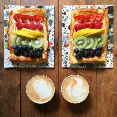 Симетрична закуска: тайната на хармоничната връзка, според двойка артисти (обновена с нови кулинарни идеи)