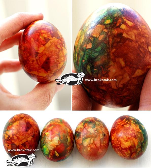 мраморни великденски яйца