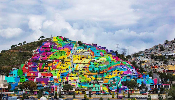 Социален проект превръща бедността в пищен празник на цветовете
