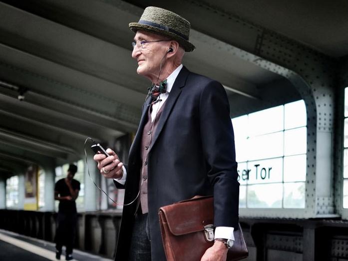 """""""104-годишен дядо"""" доказва, че себеизразяването и личният стил нямат """"краен срок на годност"""""""