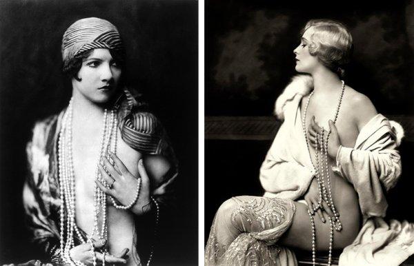 Ретро еротика: чувствени портрети на танцьорките от Ziegfeld Follies