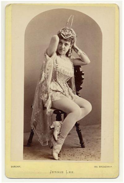 Екзотичните танцьорки на 19 век