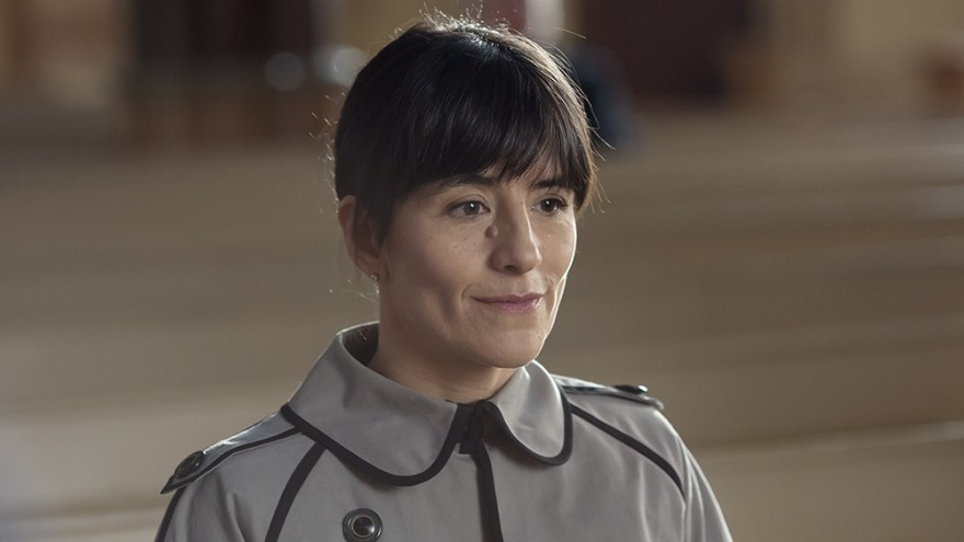 френската актриса Ромен Боранже