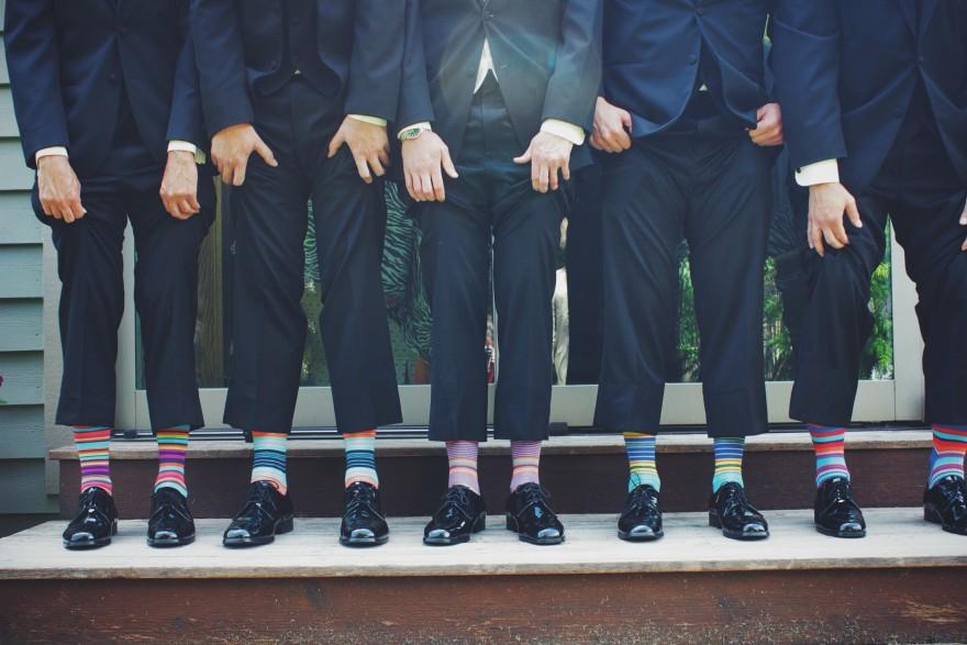 носете шарен чорапи и ще бъдете възприемани като по-интересни, по-надеждни, по-успешни