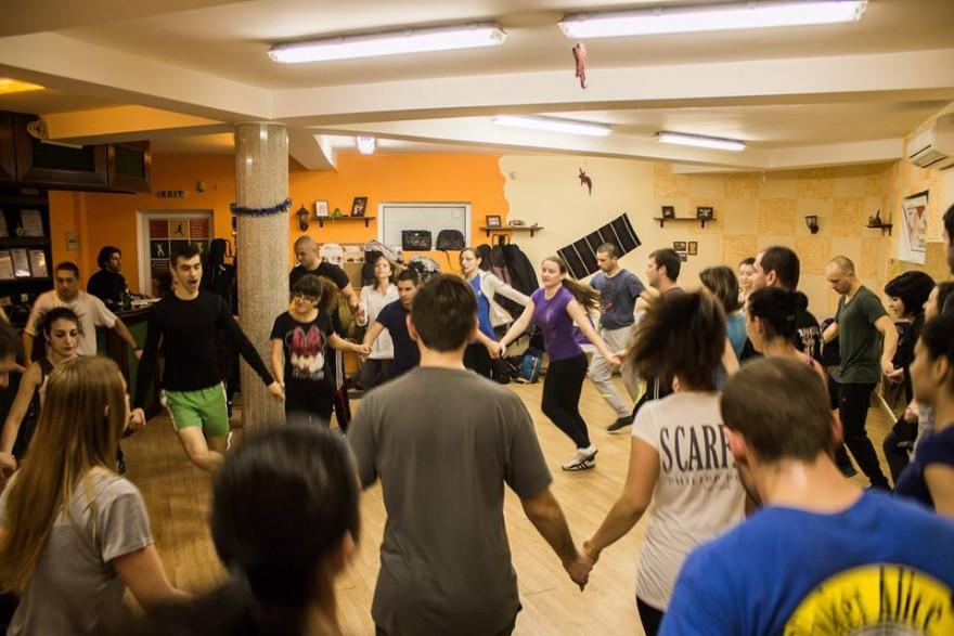 В залата за танци на Ирина