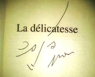 автограф от автора на Нашите раздели