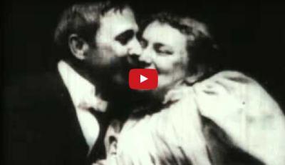 Първата целувка в киното е заснета от… Томас Едисън