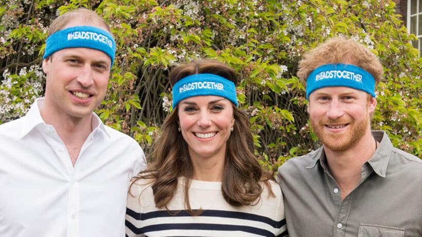 """Уилям, Кейт и Хари си сложиха ленти срещу стигмата """"психично болен"""" (видео послание)"""