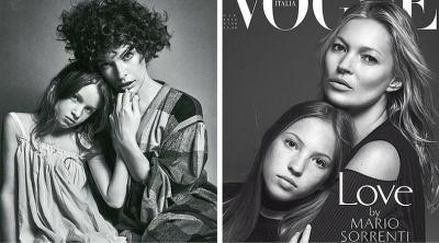 Семейството е всичко: приказна фотосесия на звездни родители и техните деца за Vogue