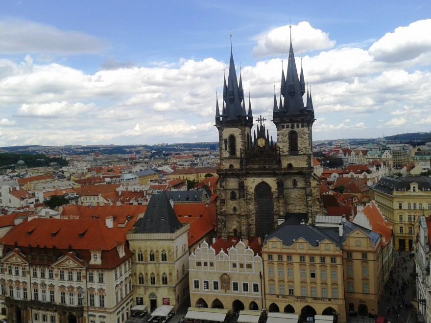 гледка от Прага
