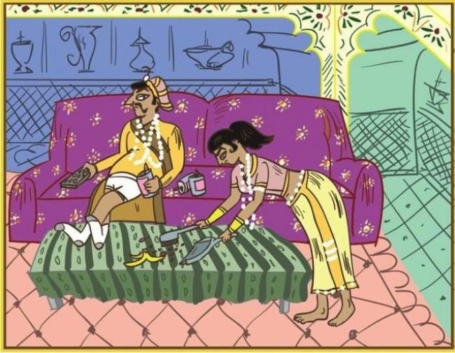 Кама Сутра за женени - поза 1