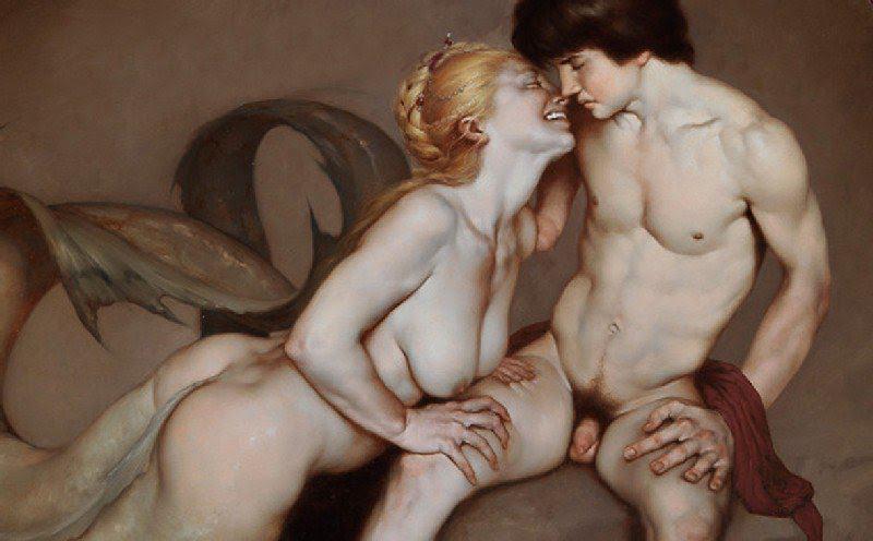 """Чувствената, """"барокова"""" живопис на съвременника ни Роберто Фери"""
