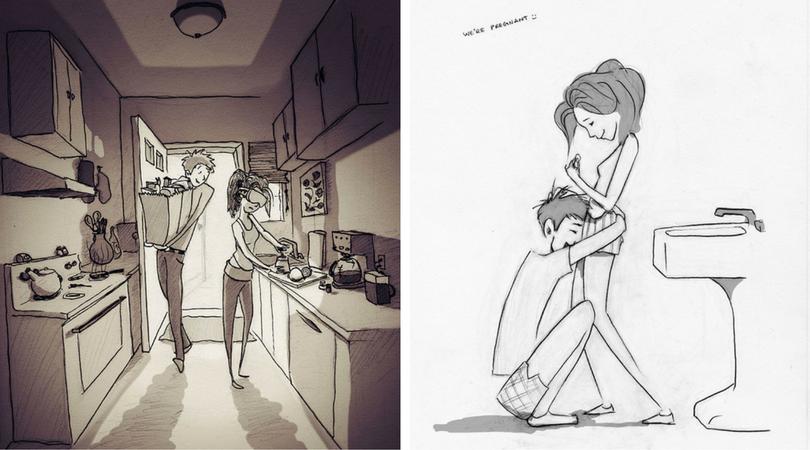 365 илюстрации, доказващи, че любовта е всеки ден