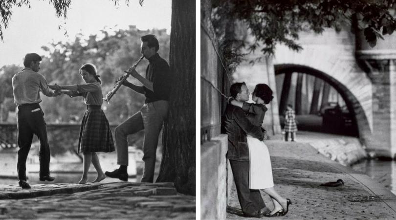 Париж и любовта във фотографиите на Пол Алмаси