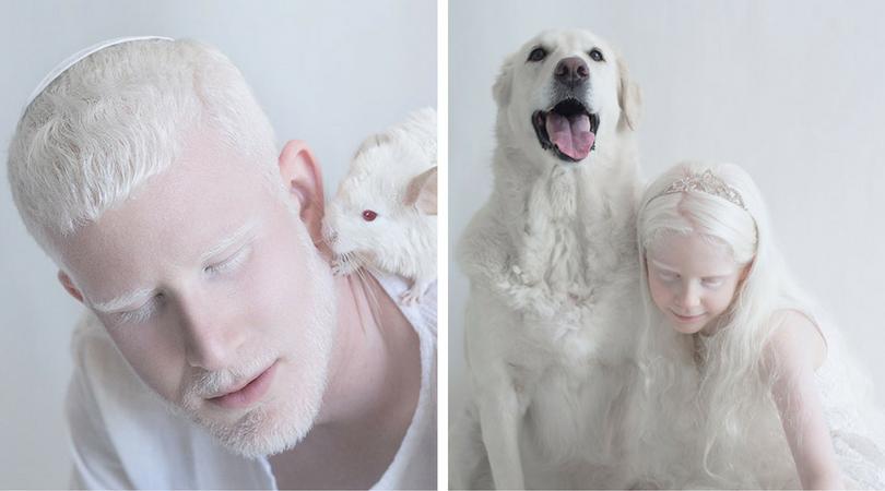 красота на албиносите (арт фотографии)