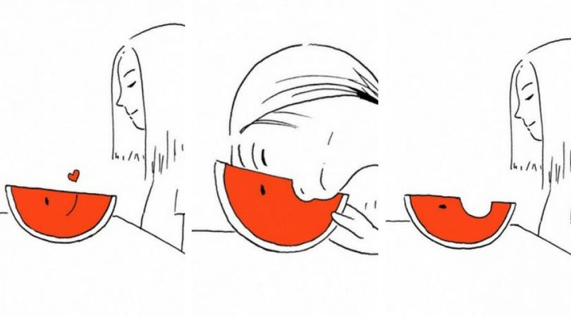 Илюстрации с неочакван край