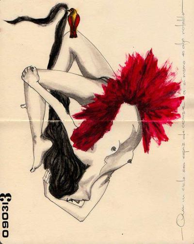 В тетрадката на мексиканска художничка: красота по Албер Камю