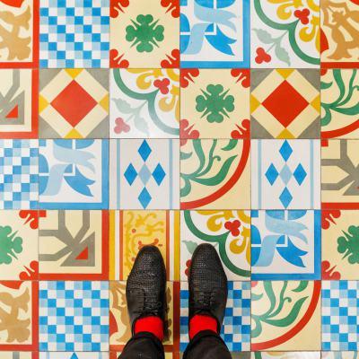 Да се влюбиш във Венеция докато гледаш… в краката си (снимки на най-красивите подове)