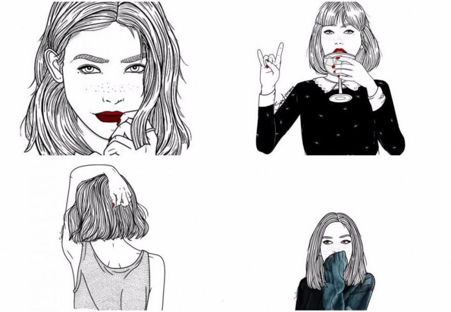 Откровените илюстрации на Sara Herranz