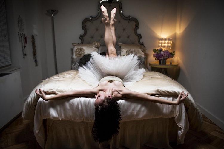 в спалнята на балерините (портрети)