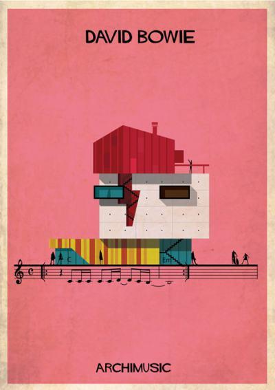 Ако музикантите бяха архитекти… или градът, в който бихте искали да живеете (илюстрации)