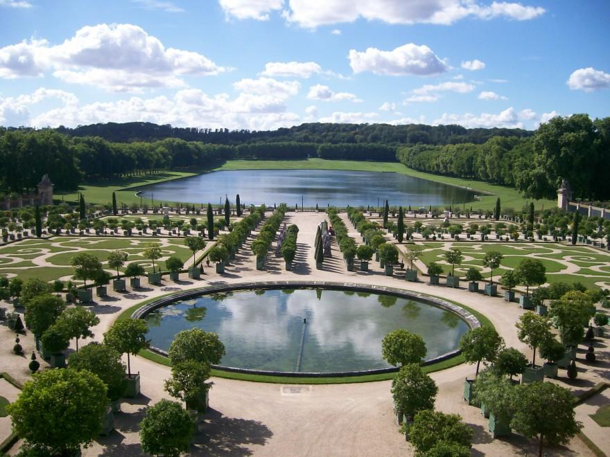 Градините на Версай, през обектива на Гери