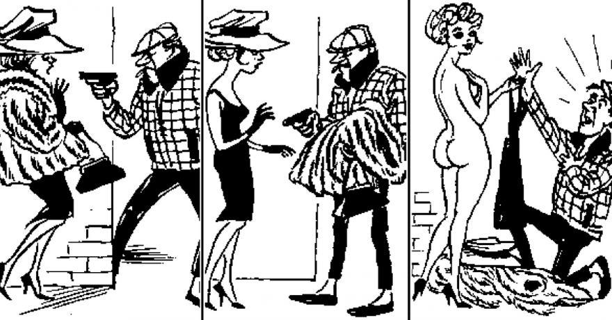 карикатурите на Херлуф Бидструп