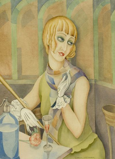 Портрет на Лили, рисуван от Герда Вегенер