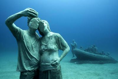 Първият подводен музей в Европа отвори… дълбини с над 300 скулптури и 12 арт инсталации