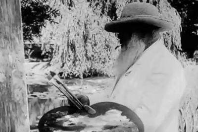 Късометражни ленти на над 100 години показват Моне, Реноар, Дега и Роден по време на работа в ателиетата им (видеа)
