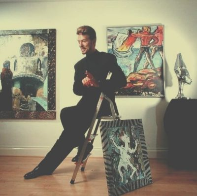 Дейвид Бауи – художникът: в 23 картини, въздействащи също като музиката му