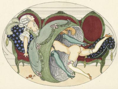 """Еротичните картини на Герда Вегенер (създала """"Момичето от Дания"""", като съпруга на Ейнар Вегенер/Лили Елбе)"""