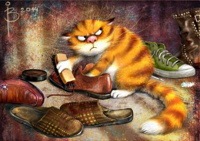 """Чудният """"котизъм"""" на Рина З. (илюстрации)"""