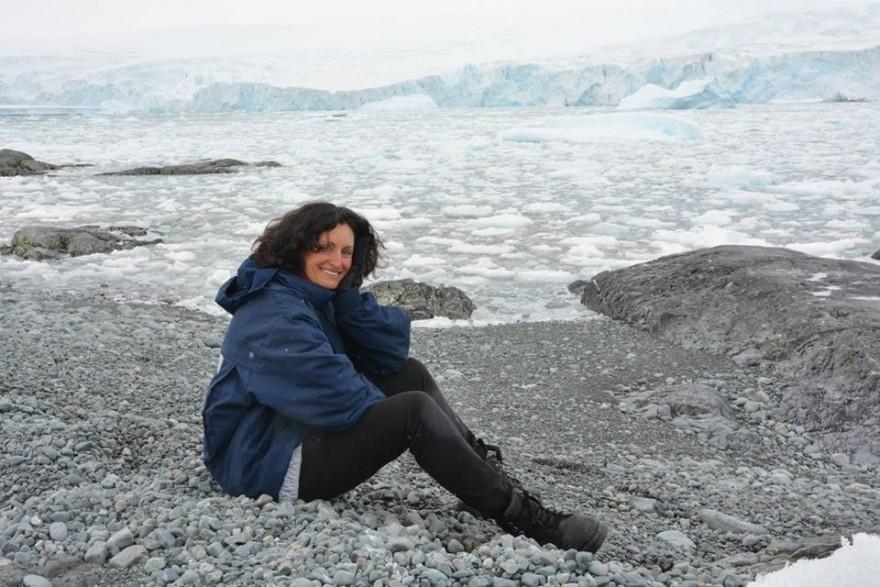 Изабела Шопова в Антарктида