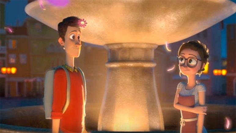 Изпълнителят на желания: кадър от късометражната анимация