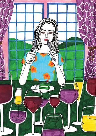 """Как да """"залепим"""" разбито сърце… с илюстрациите на Debby Woo"""