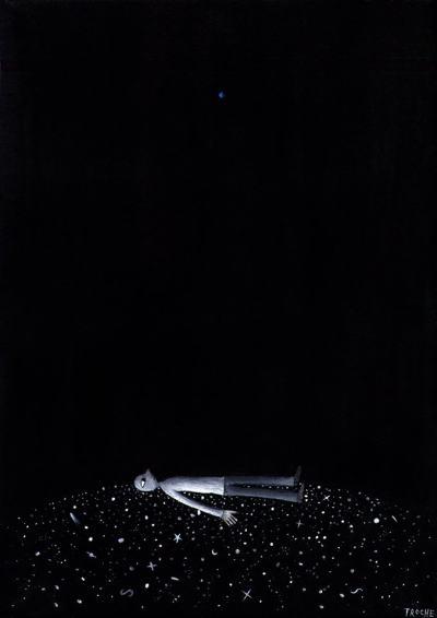 """Невидимите """"прекалено поетични"""" рисунки на един уругвайски артист"""