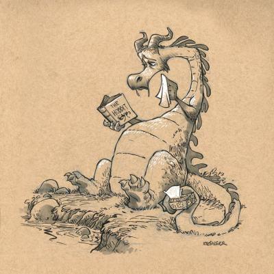 Драконите са реабилитирани в серия винтидж илюстрации